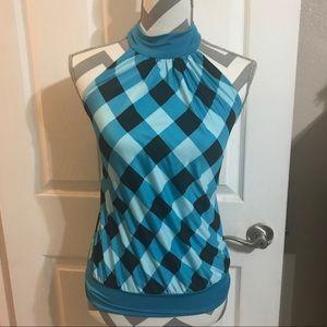 Halter top blouse size medium